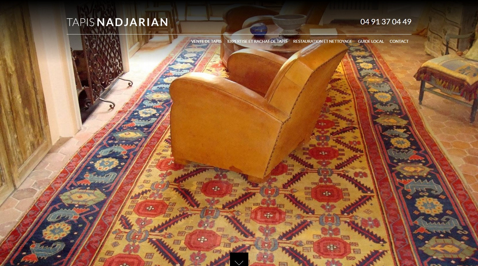 Vente de tapis persan ancien à marseille