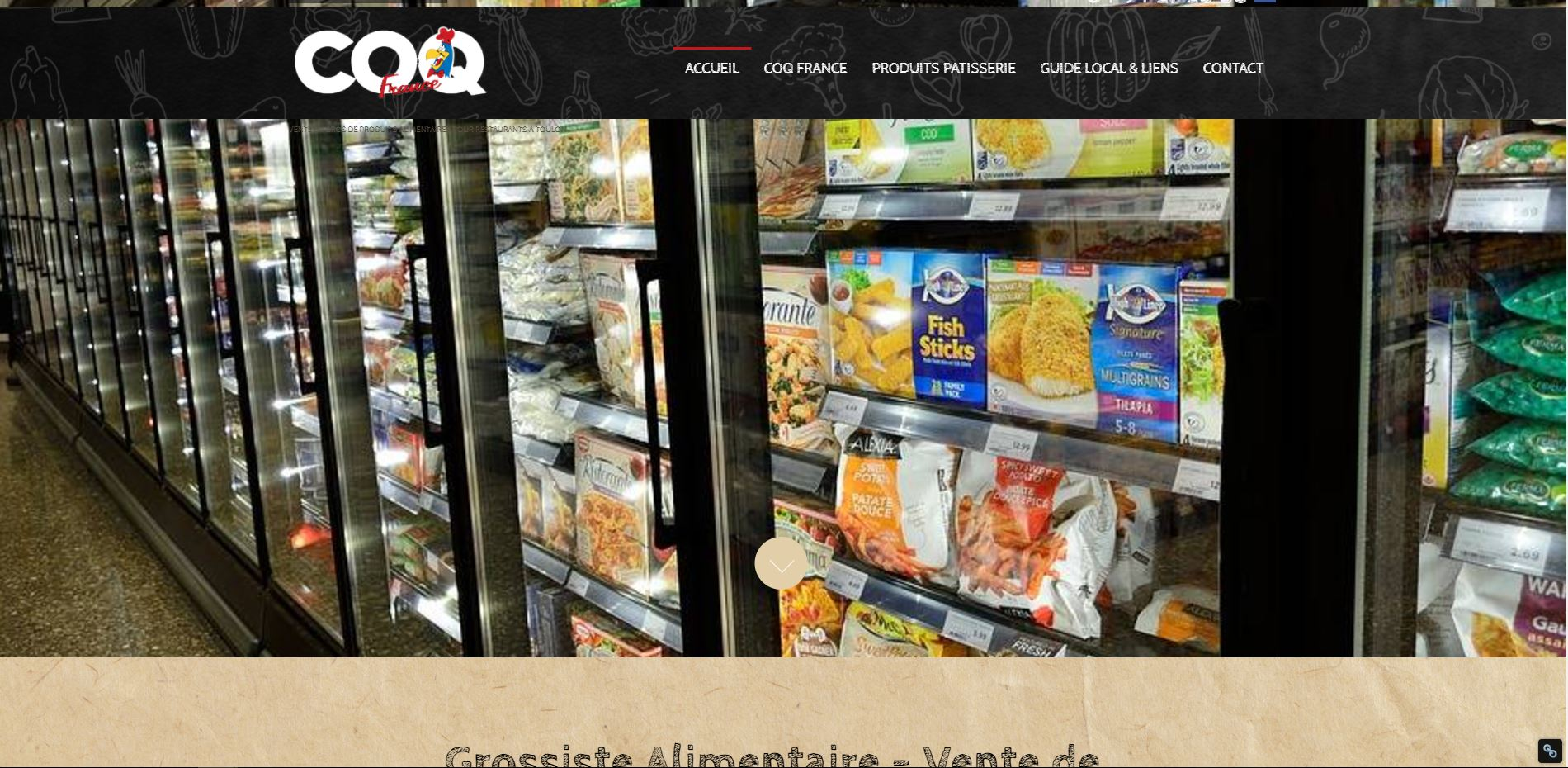 Coq France - grossiste alimentaire à Toulon