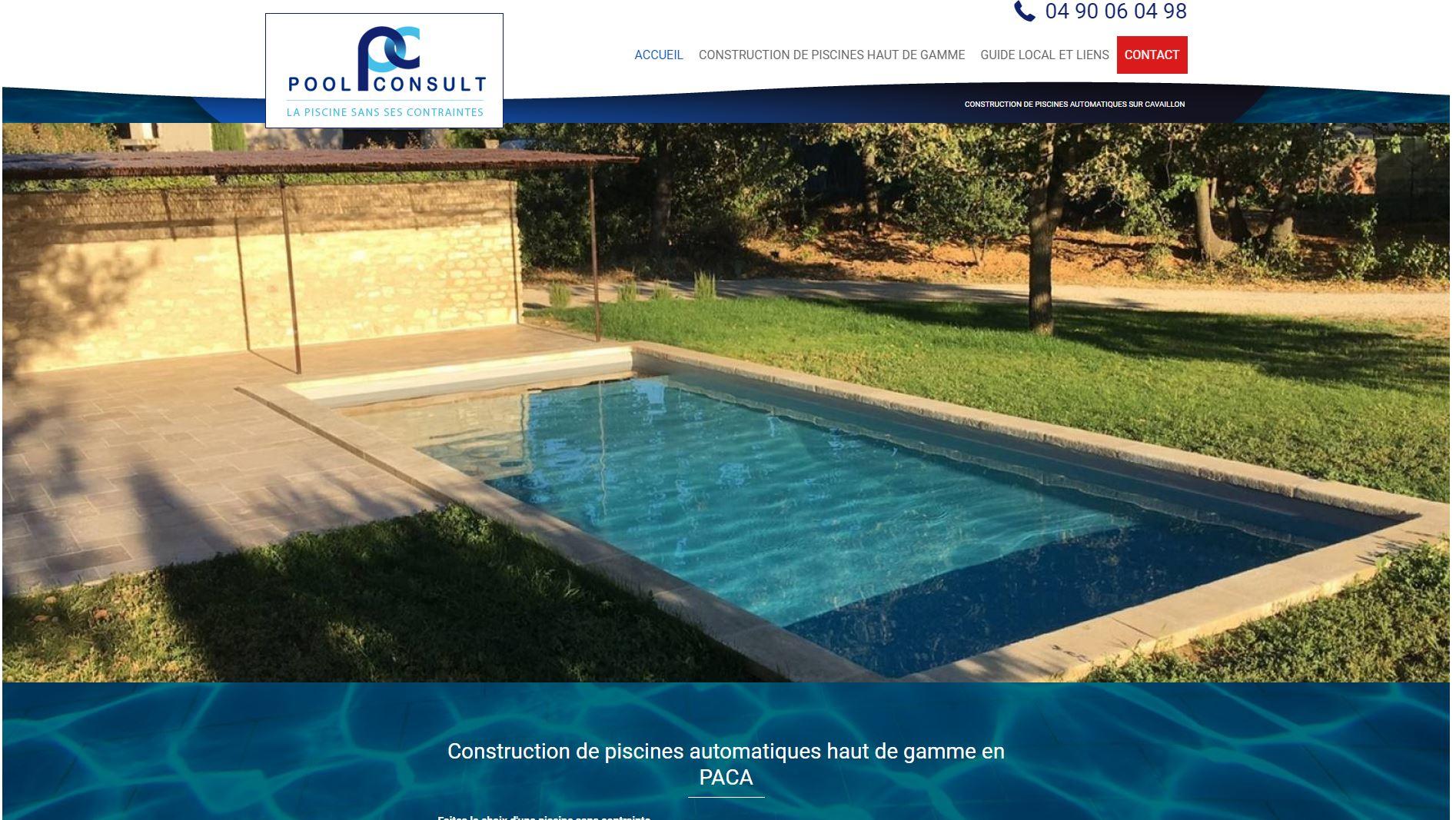 Vente piscine haut de gamme Cavaillon