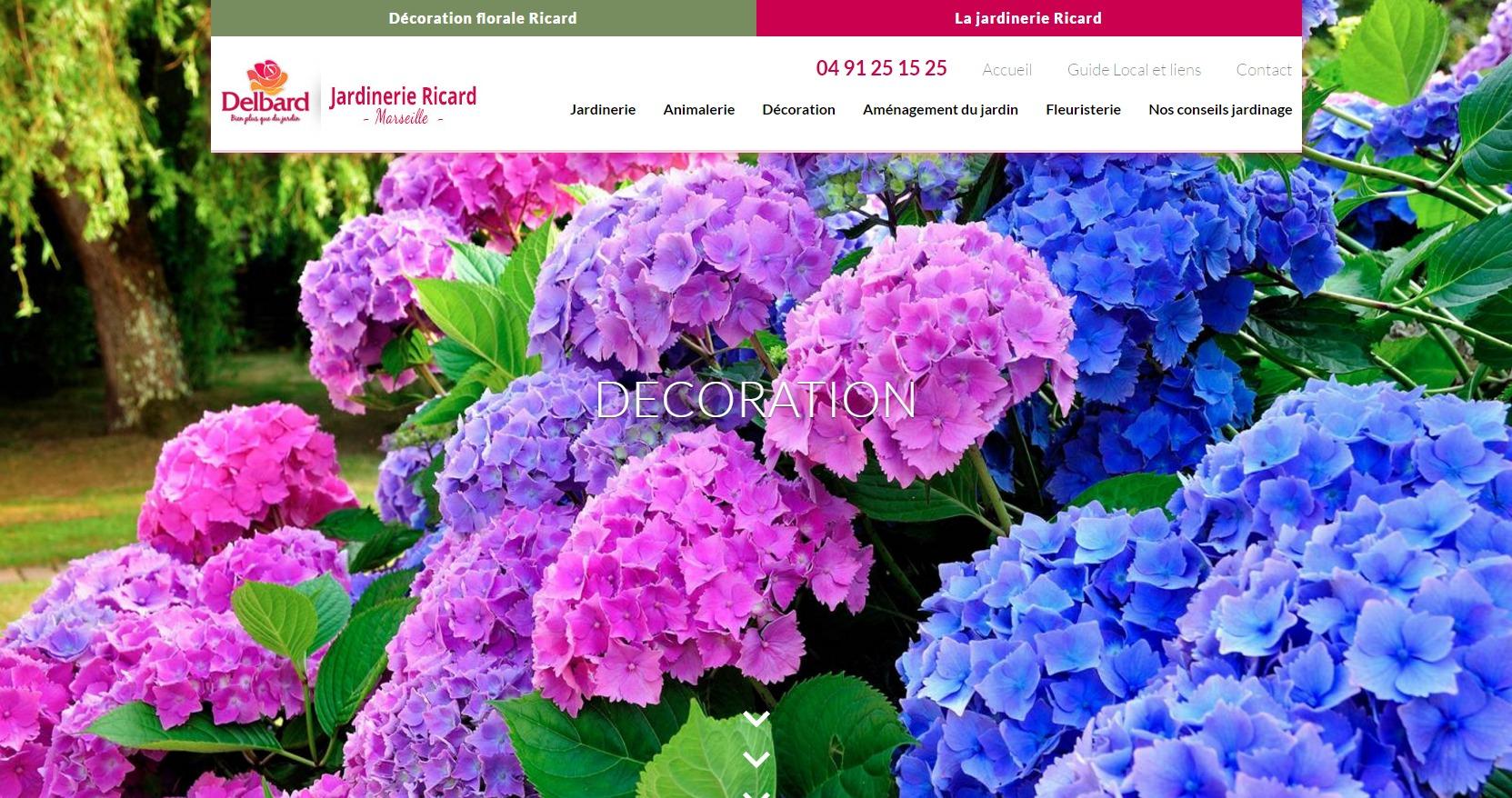Jardinerie p pini re et animalerie marseille for Jardinerie internet