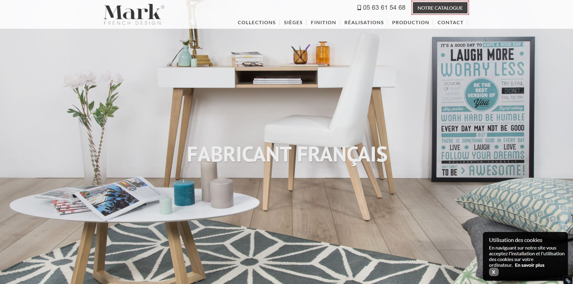 fabrication de mobilier haut de gamme sur toulouse mark french design agence web marseille jalis. Black Bedroom Furniture Sets. Home Design Ideas