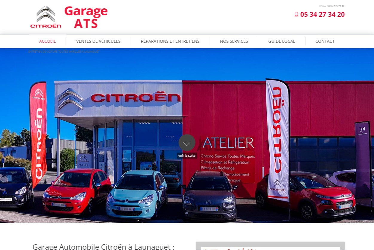 Garage concessionnaire automobile citro n launaguet for Client mystere garage automobile