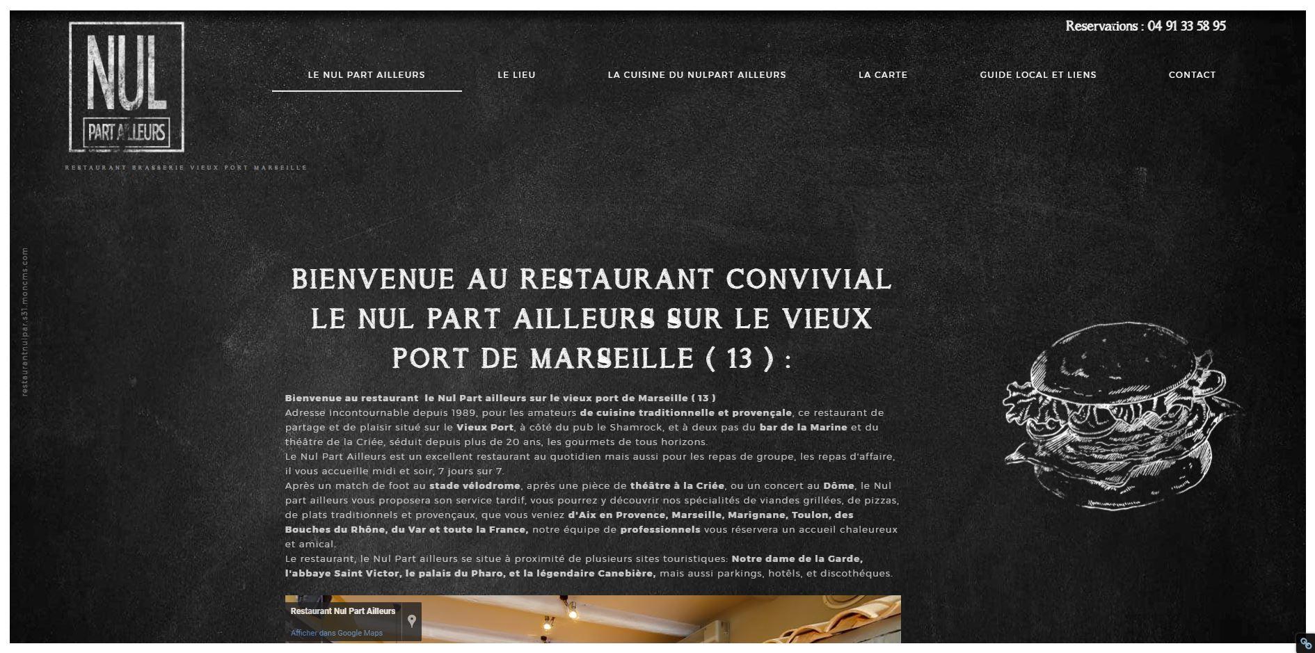 restaurant port marseille