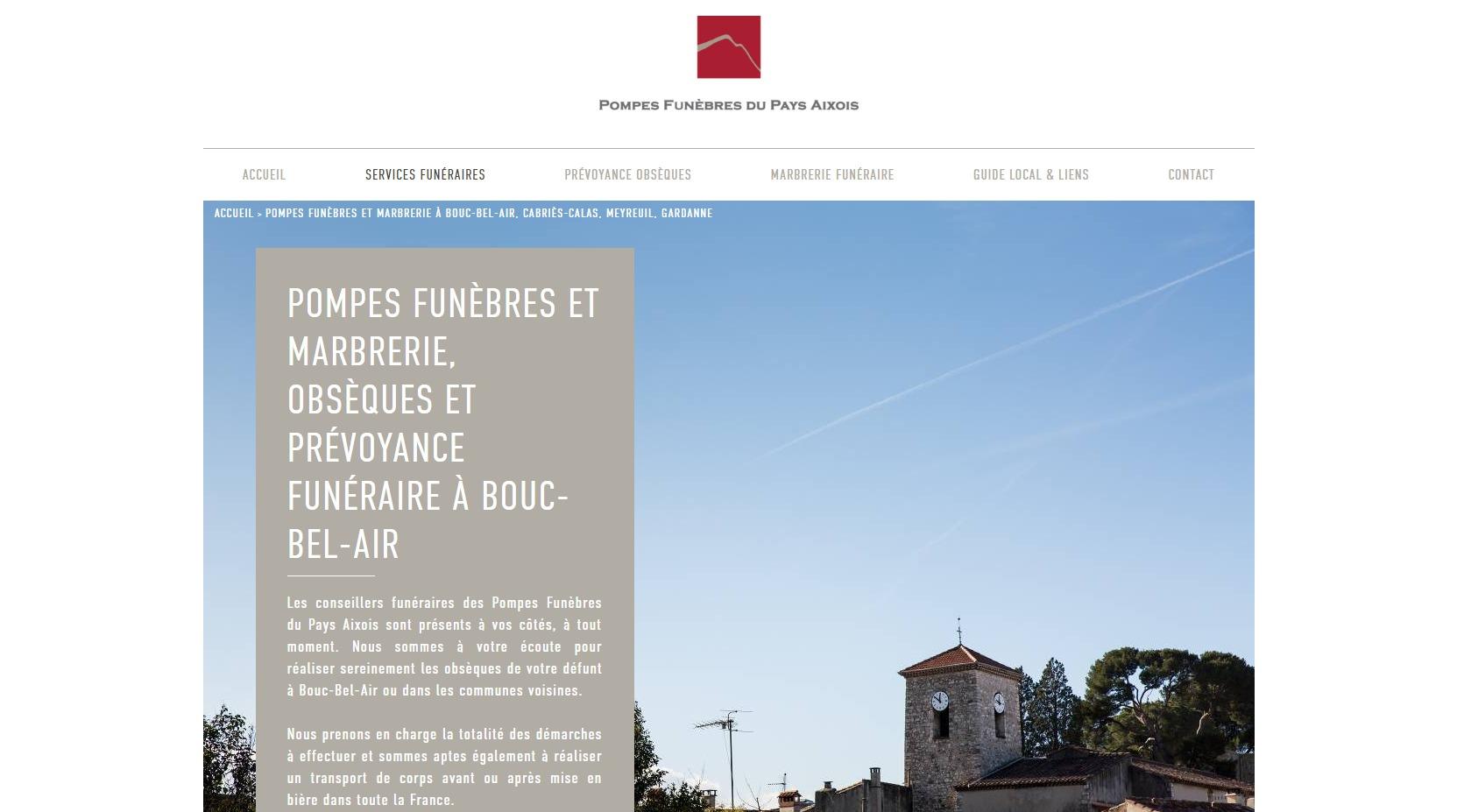 Pompes Funebres Pour Contrat D Obseques A Bouc Bel Air Pompes