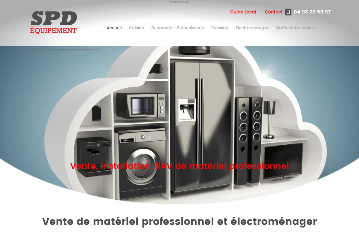 Distributeur de mat riel professionnel miele et primus nice spd quipement agence web - Materiel de ramonage professionnel ...