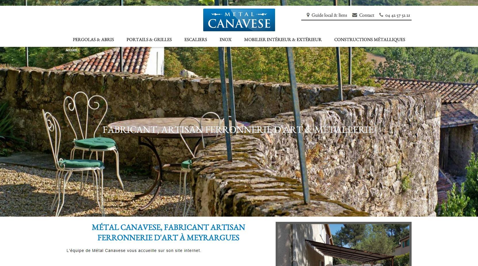fabrication de portail en métal sur aix en provence