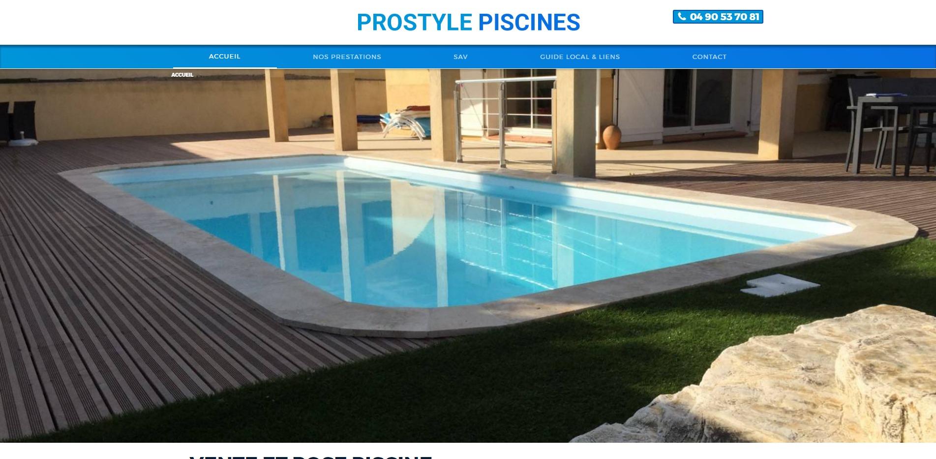 Vente de piscine coque marignane prostyle piscine for Vente de piscine