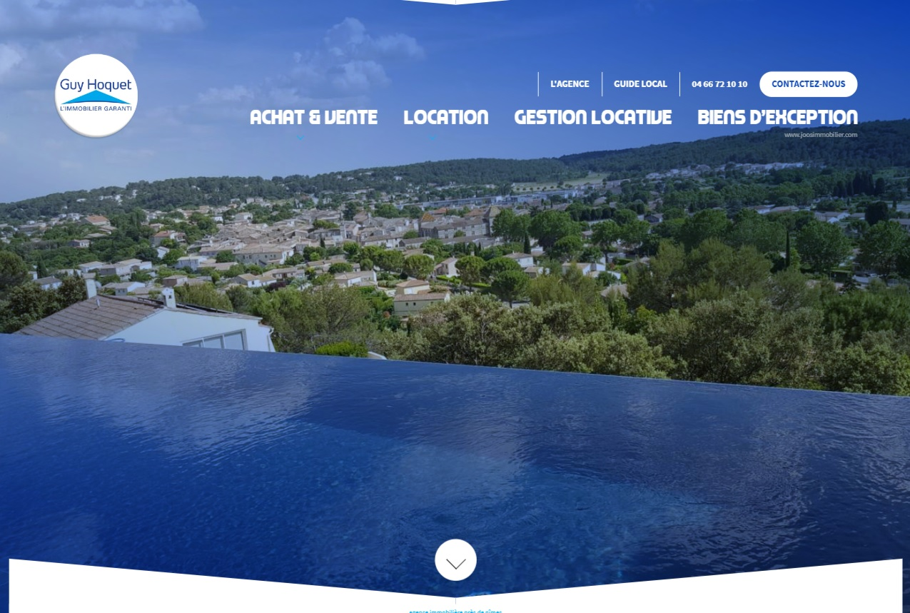 Agence immobili re n mes guy hoquet immobilier site for Agence immobiliere guy hoquet
