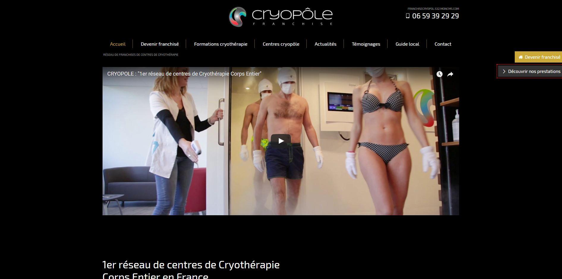 Cryothérapie Montpellier