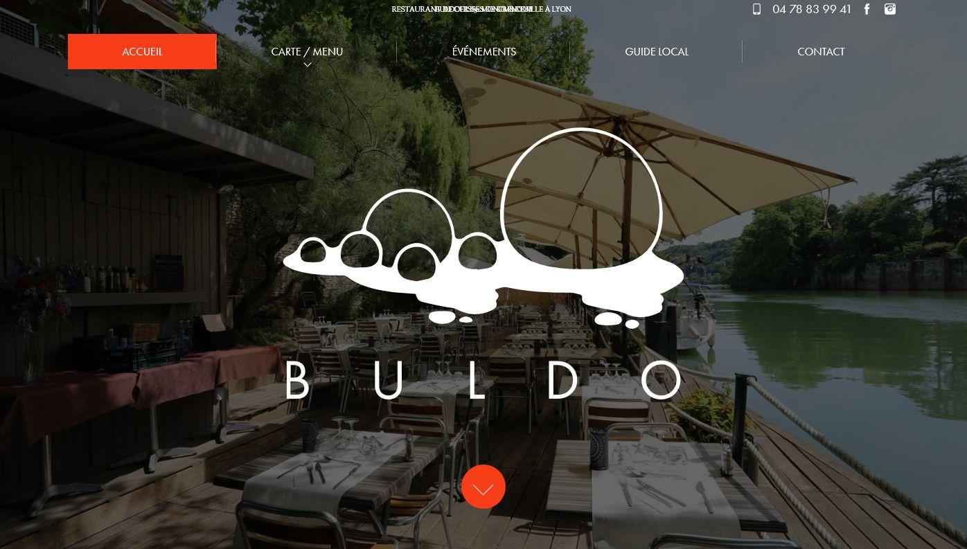 restaurant avec terrasse en bord de Saône à Lyon