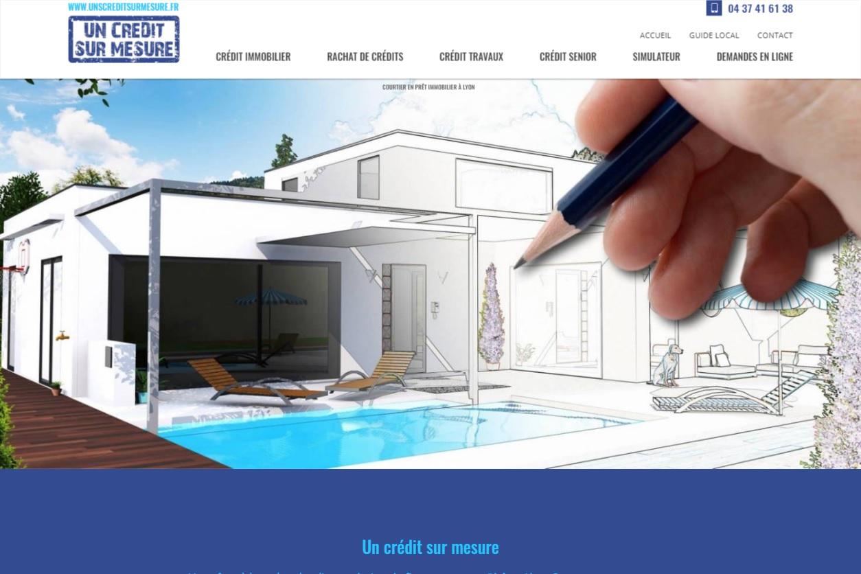 Crédit immobilier pour l'achat d'une maison à Lyon