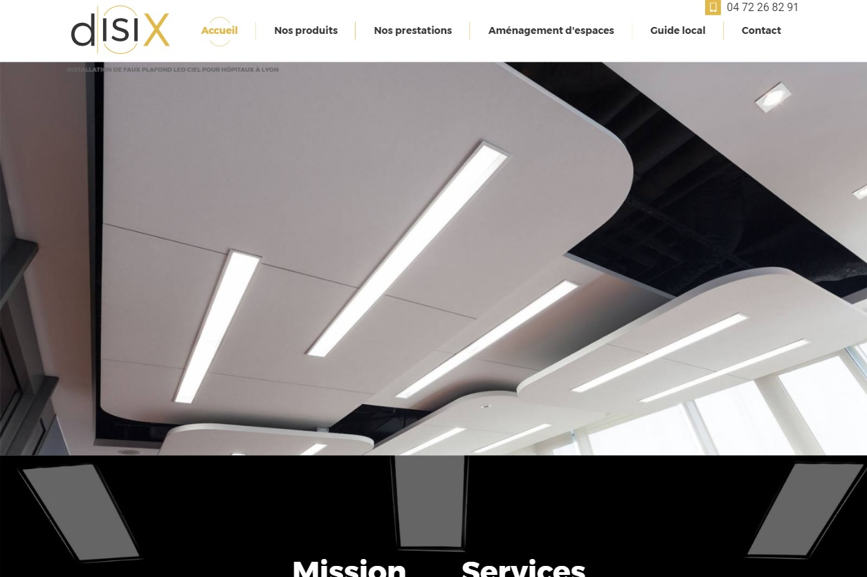 installation de faux plafond led lyon disix jalis. Black Bedroom Furniture Sets. Home Design Ideas