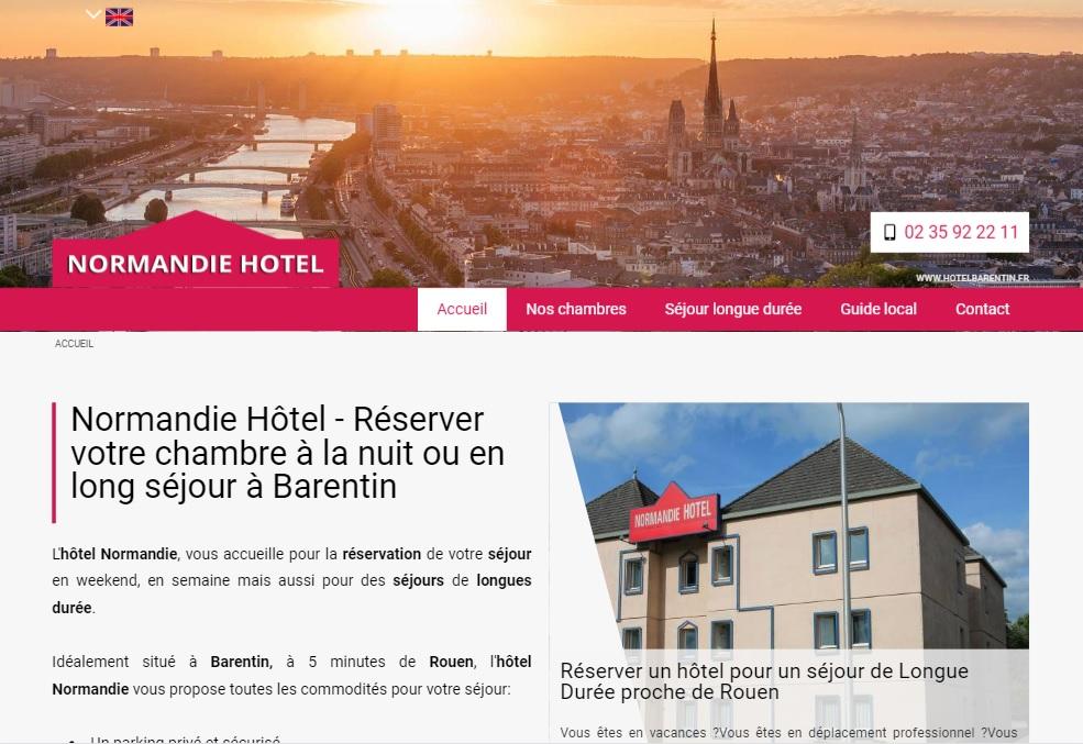 R server une chambre d 39 h tel barentin 76360 normandie for Reserver une chambre d hotel