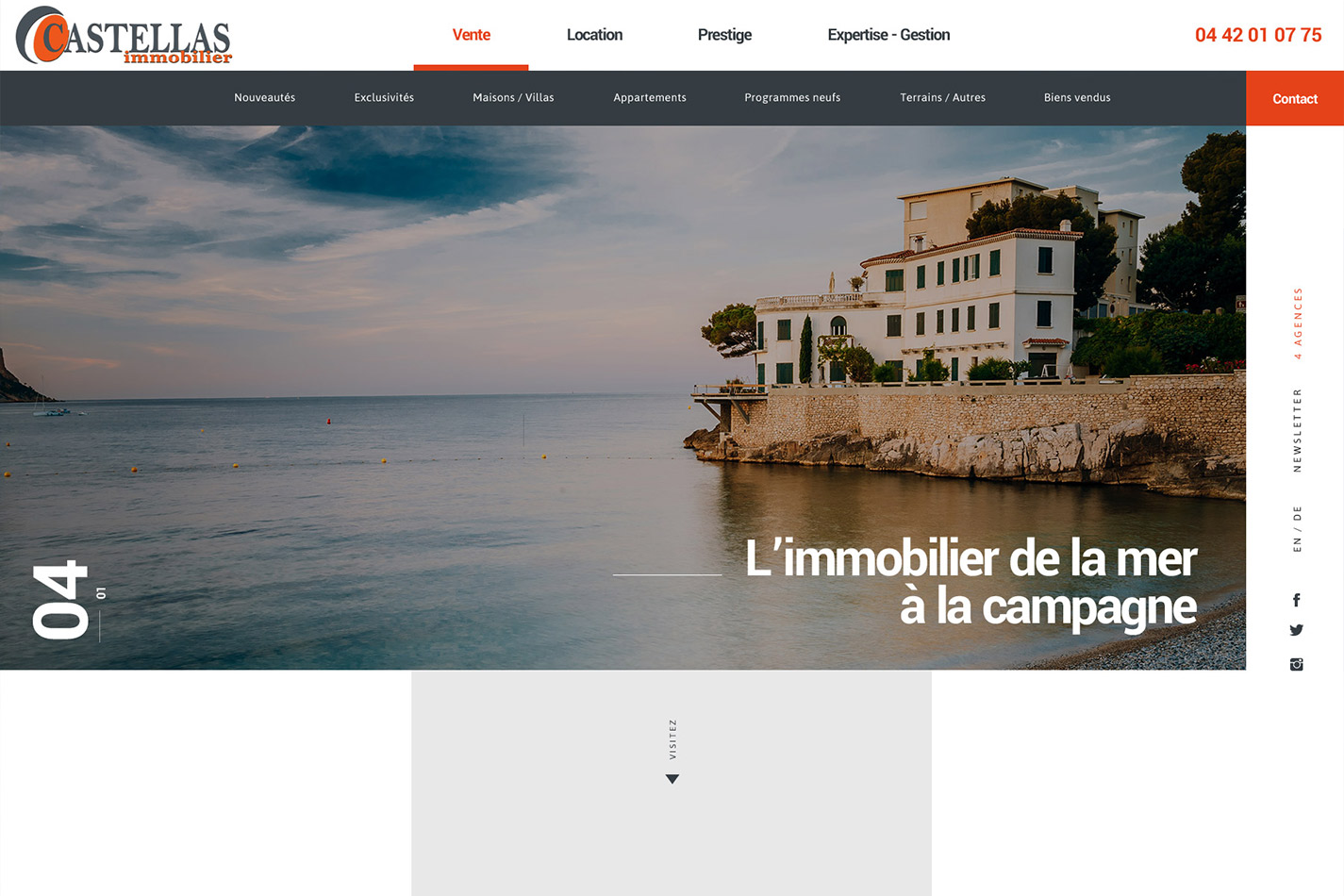 Agence immobilière à Cassis - Castellas Immobilier