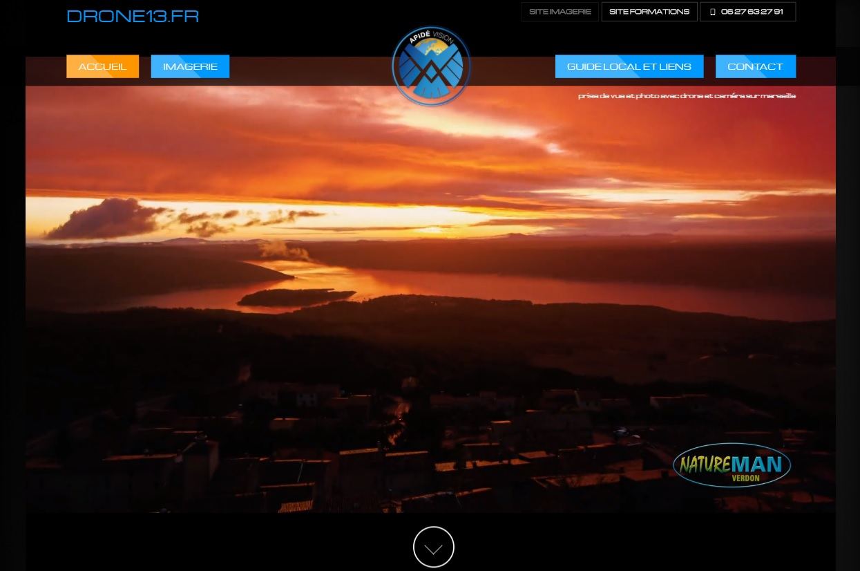 Photo aérienne avec drone Aubagne