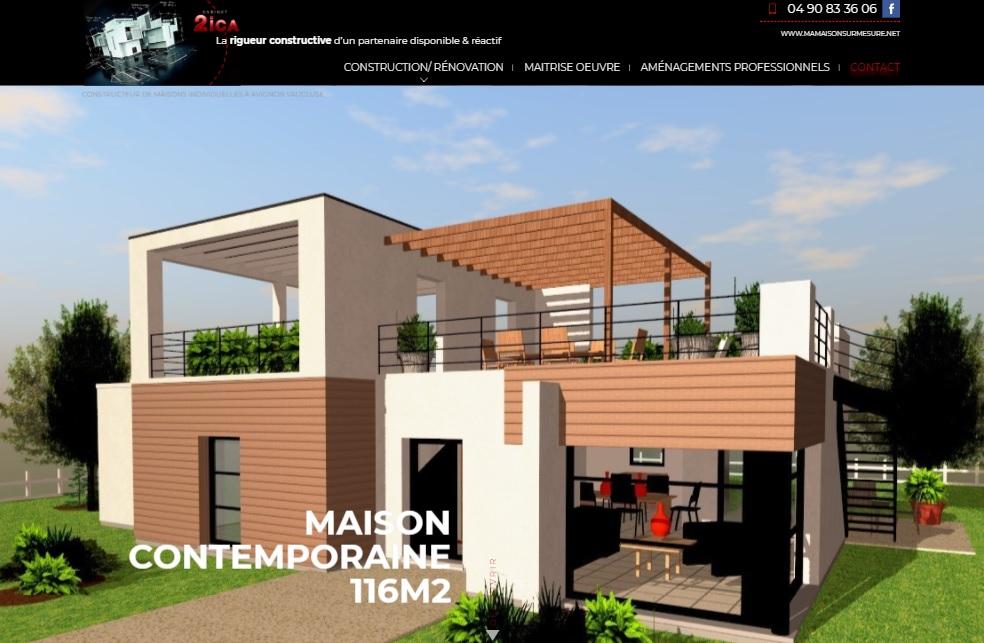 Architecte pour la conception de maison sur mesure avignon for Www conception de la maison