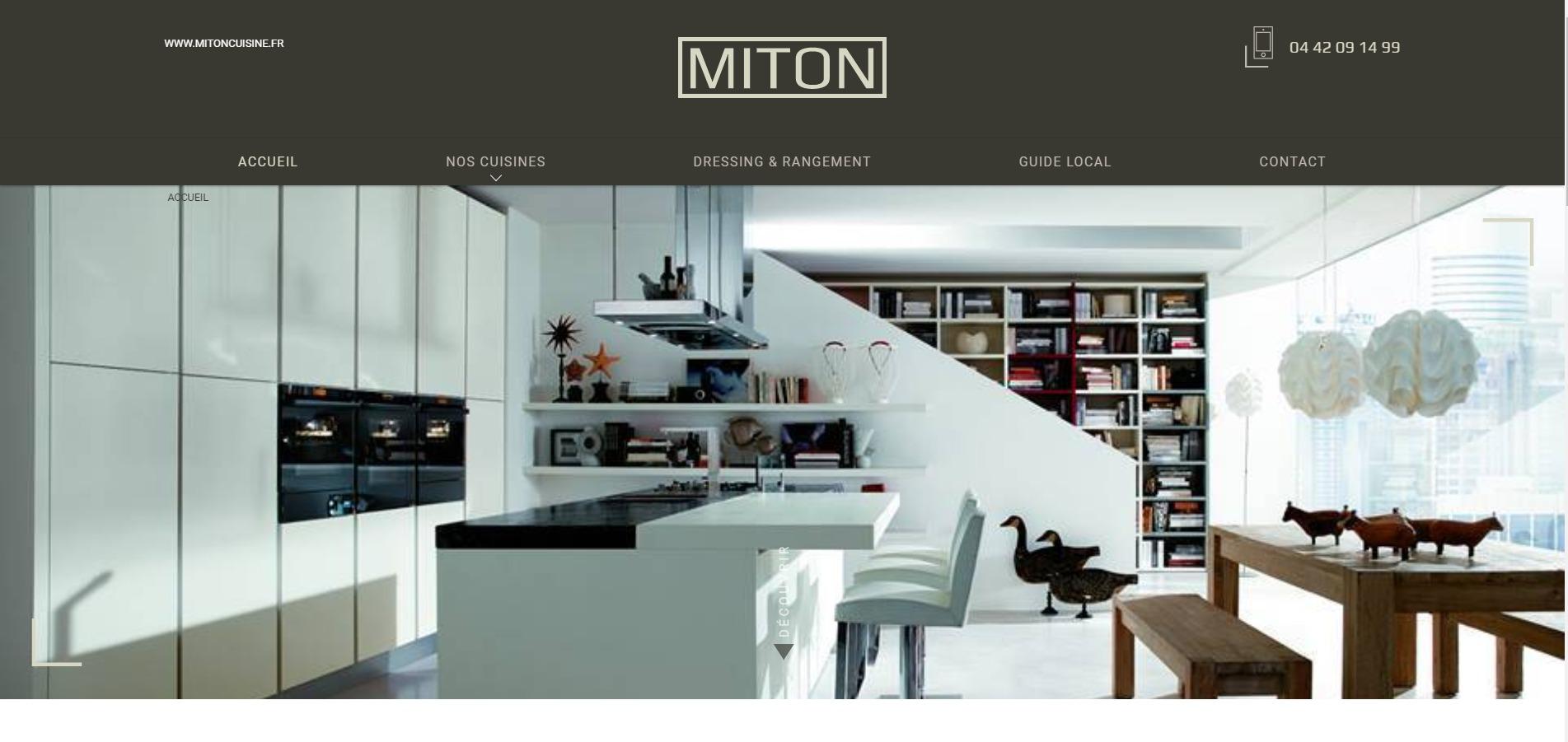 conception de cuisine sur aix en provence miton cuisine jalis. Black Bedroom Furniture Sets. Home Design Ideas