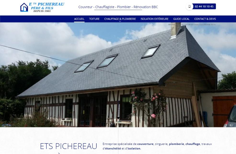 Pose de toiture à Lillebonne