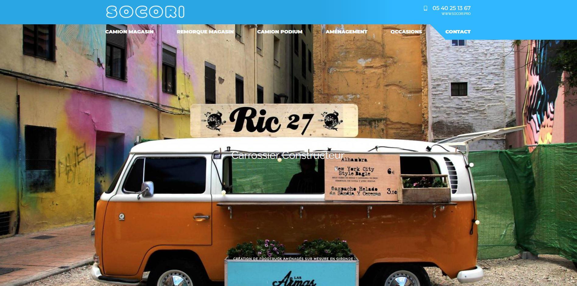 Aménageur de camions restaurants a Bordeaux
