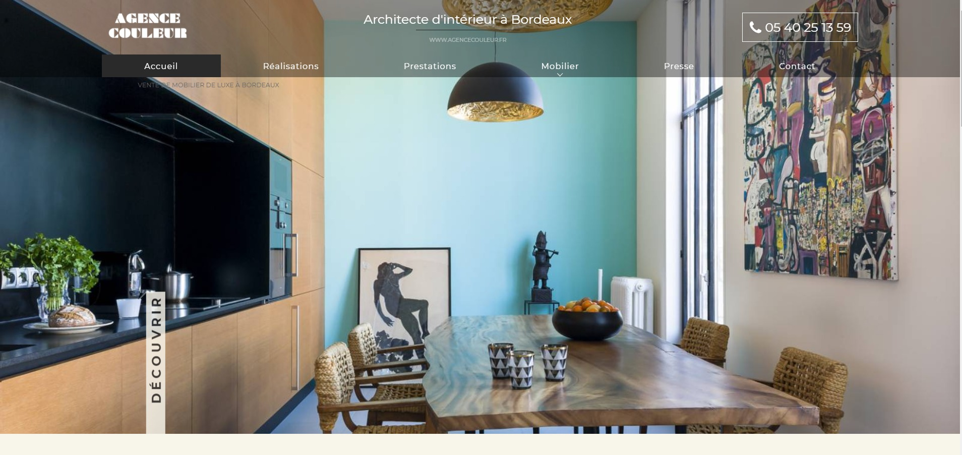 am nagement d 39 int rieur haut de gamme bordeaux agence couleur jalis. Black Bedroom Furniture Sets. Home Design Ideas
