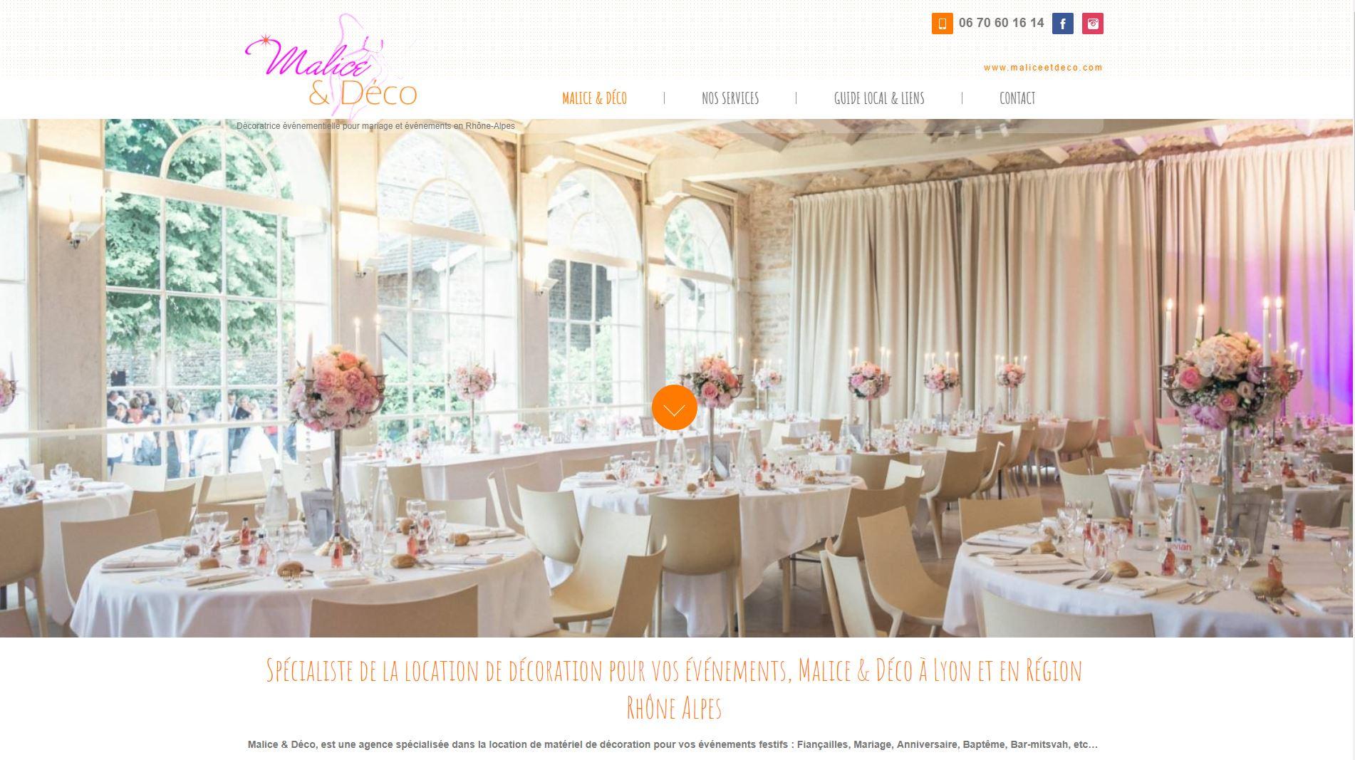 Location décoration mariage Lyon