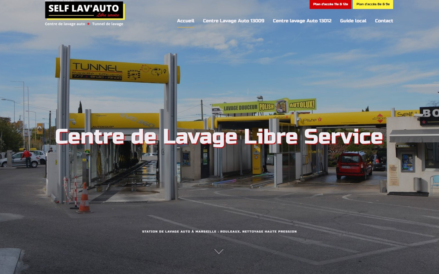 station de lavage auto en libre service marseille self lavauto site internet automobile jalis. Black Bedroom Furniture Sets. Home Design Ideas