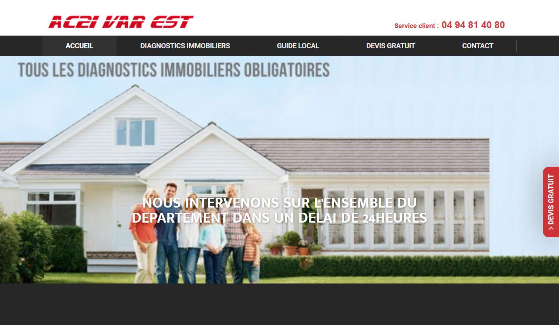 Diagnostic et bilan immobilier Le Muy AC2I Var Est