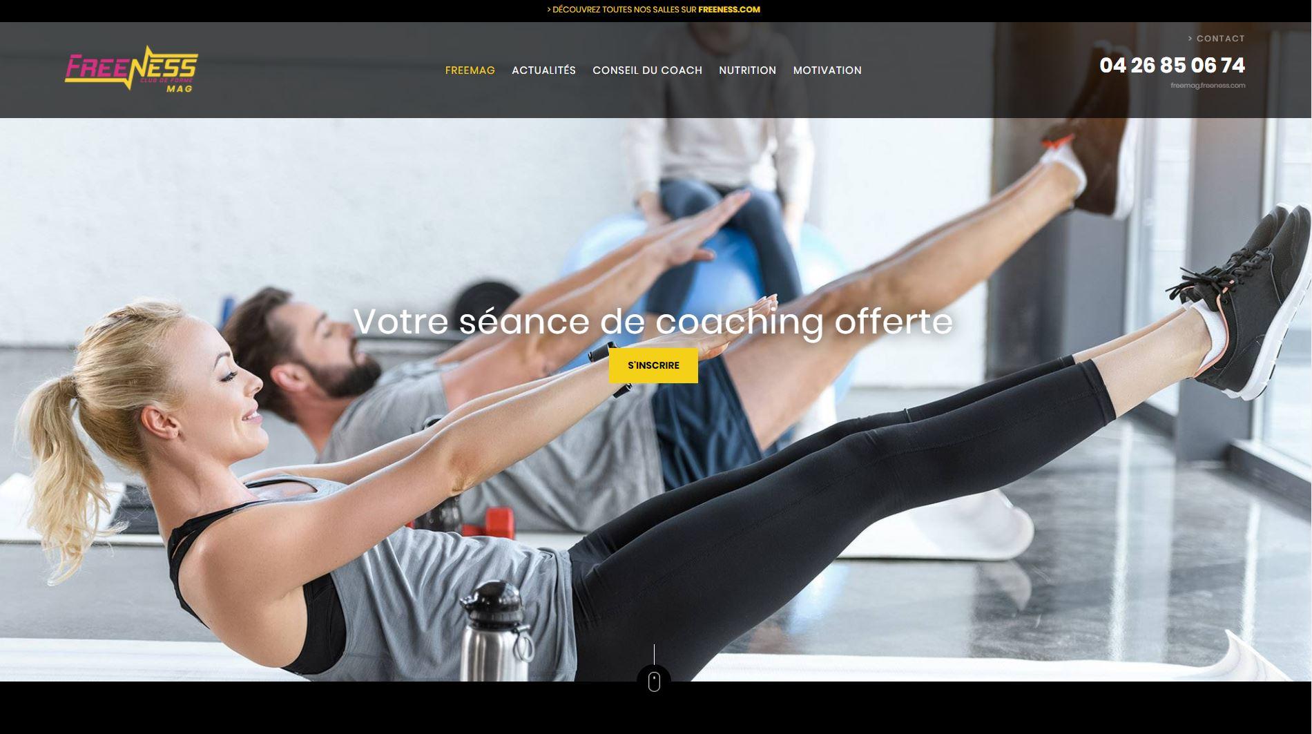 Magazine en ligne de sport et fitness