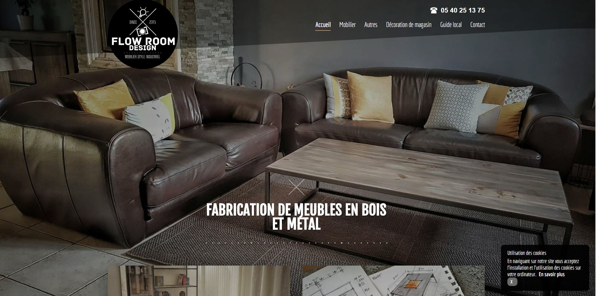 atelier de fabrication de meubles design bordeaux flowroomdesign jalis. Black Bedroom Furniture Sets. Home Design Ideas
