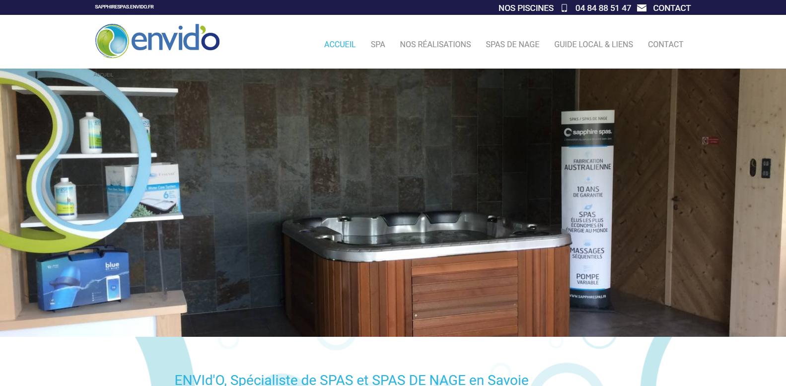 Vente de spa haut de gamme en Savoie
