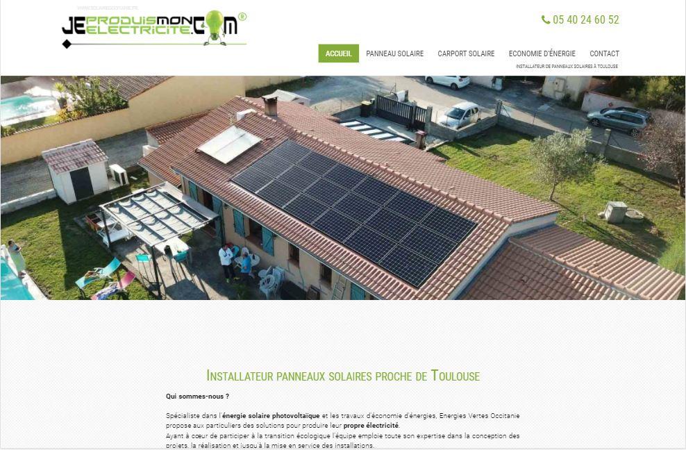 Pose de panneaux solaires à Toulouse