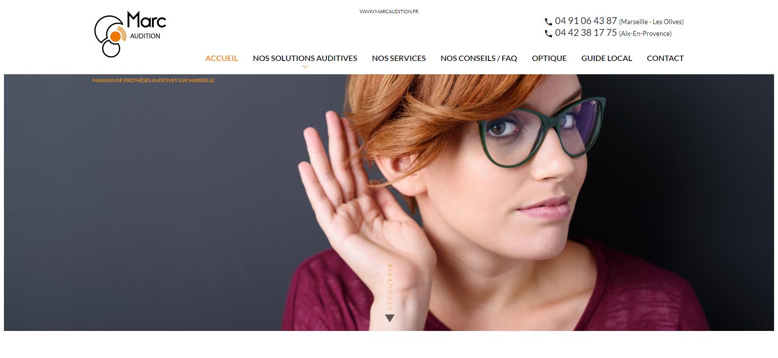 Audioprothésiste à domicile sur Marseille