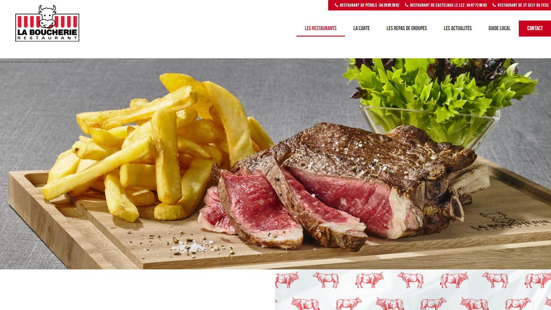 Restaurant de viandes Castelnau le Lez