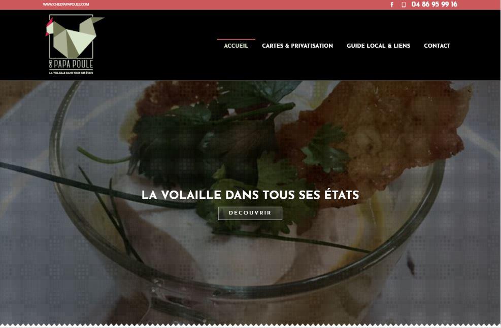 Restaurant volaille avec plats à emporter Marseille