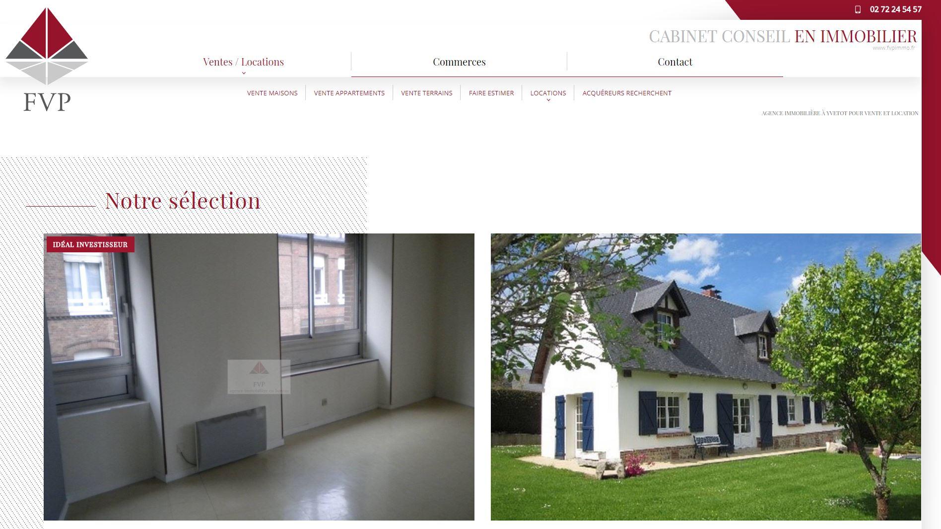 Cabinet conseil en immobilier sur yvetot fvp immobilier for Agence immobiliere yvetot