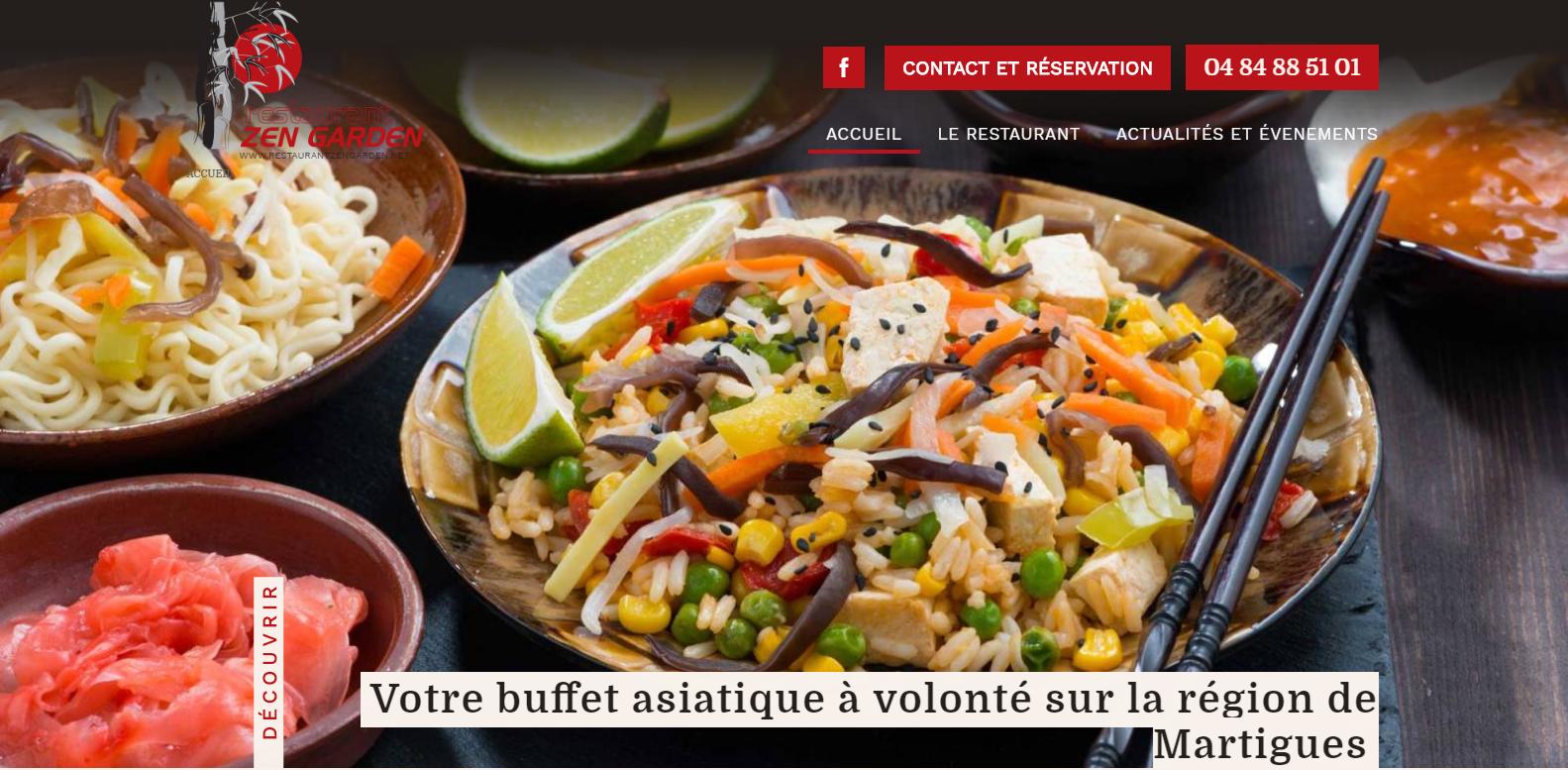 Restaurant chinois à volonté à Martigues