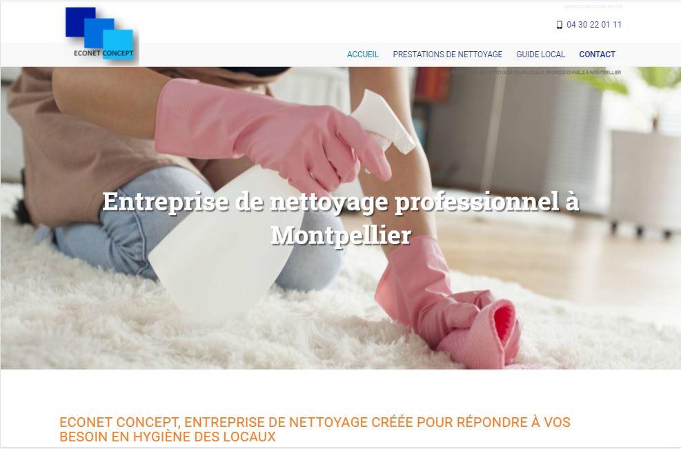 Société de ménage à Montpellier