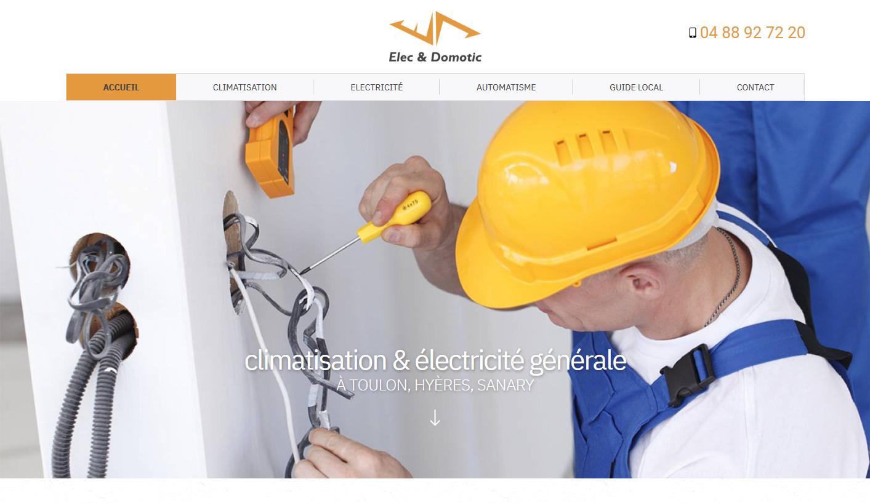 entreprise d'électricité générale Toulon