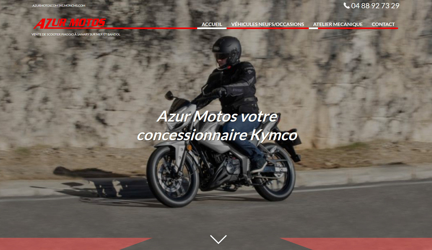 concessionnaire scooters Kymco Var
