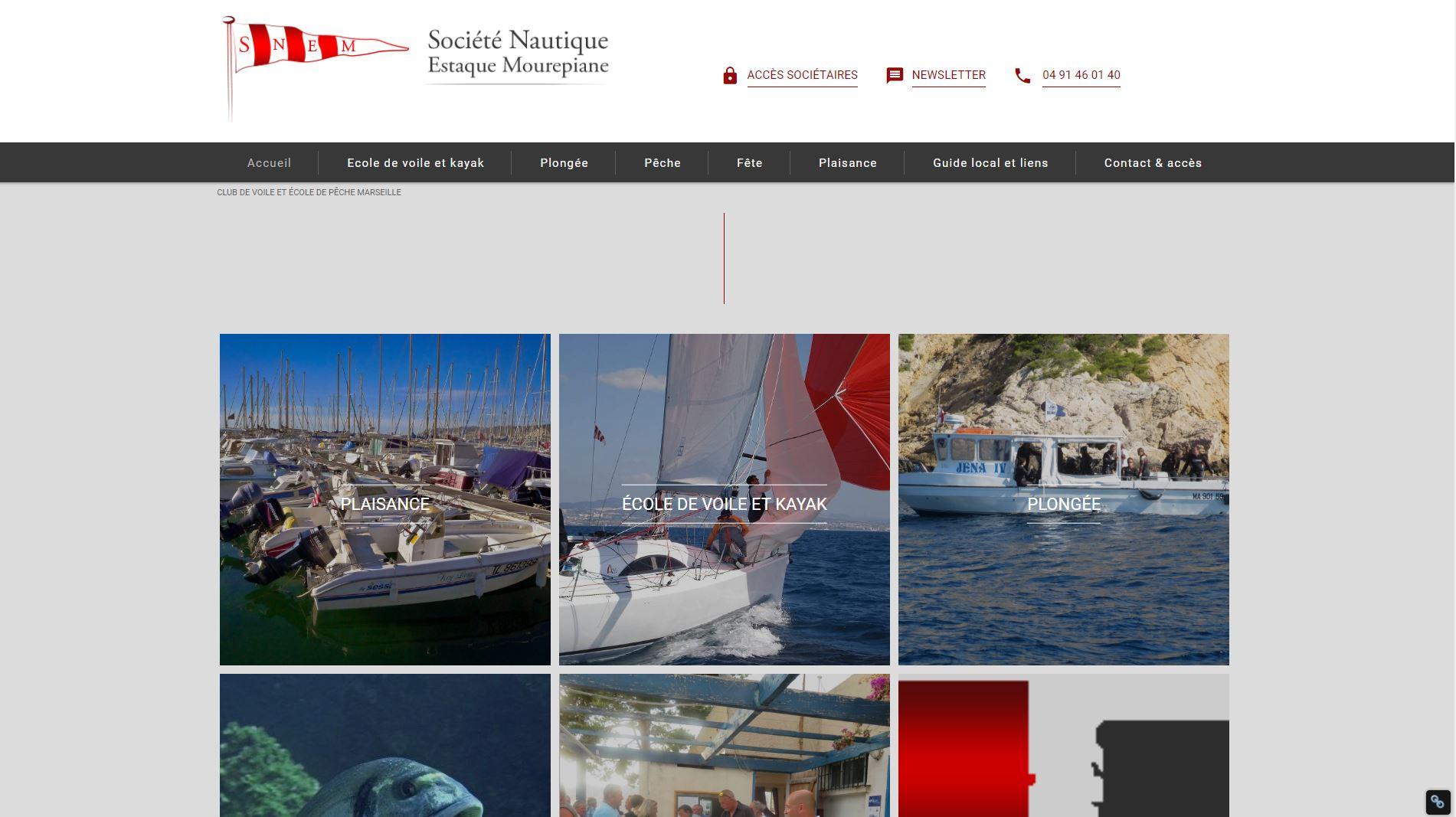 Club nautique Marseille Estaque