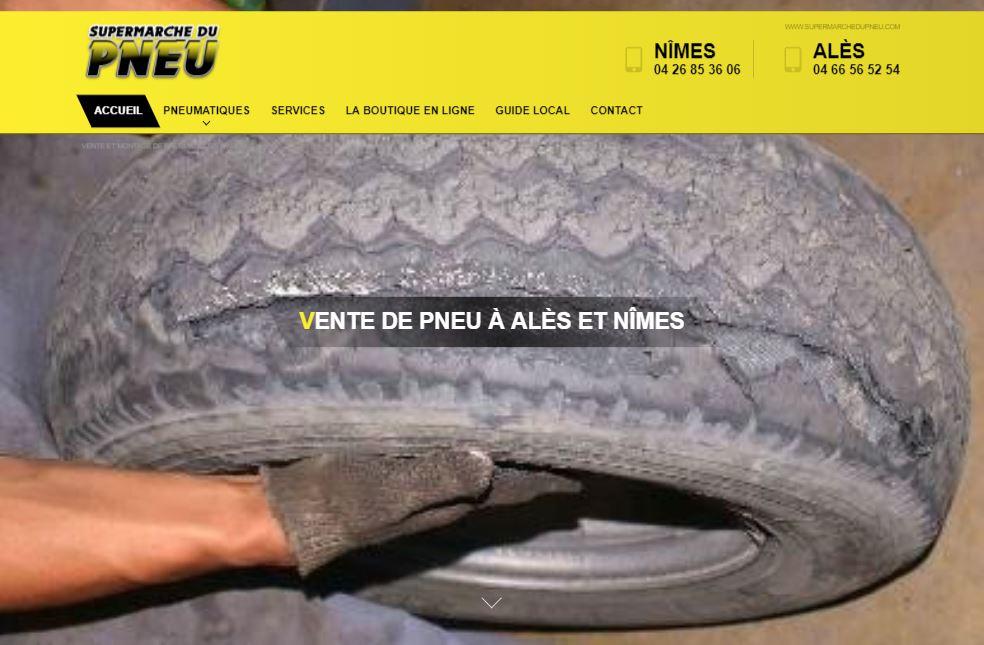 Achat de pneus sur Nîmes et Alès