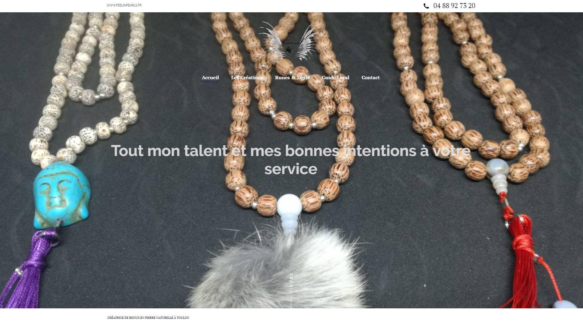 Bijoux pierre lithothérapie Toulon