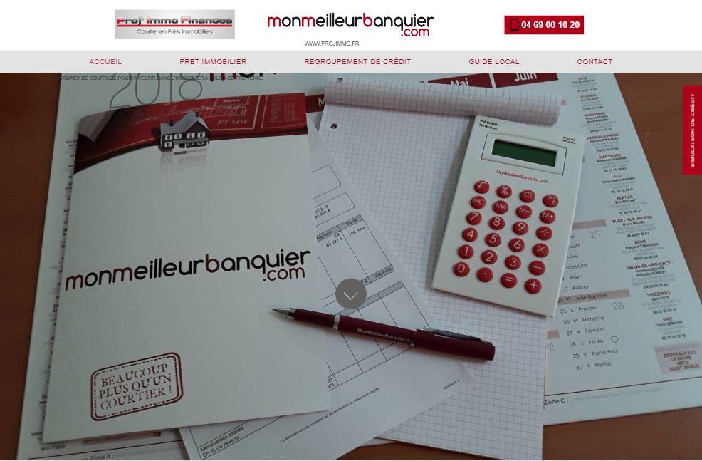 Nos r alisations de sites web pour professionnels marseille for Axa salon de provence