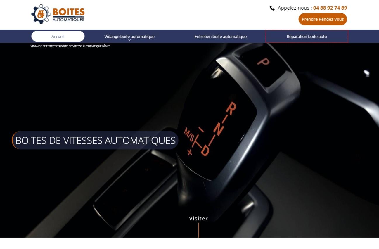 Nos r alisations de sites web pour professionnels marseille for Garage costa marseille