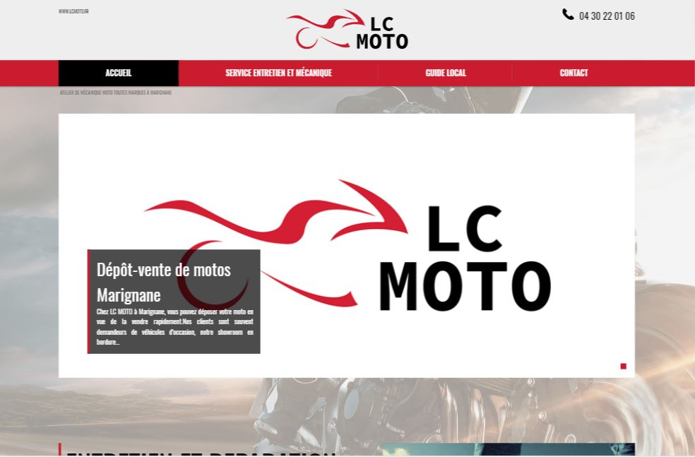 Garage moto scooter et quad marignane lc moto site for Garage htm marignane
