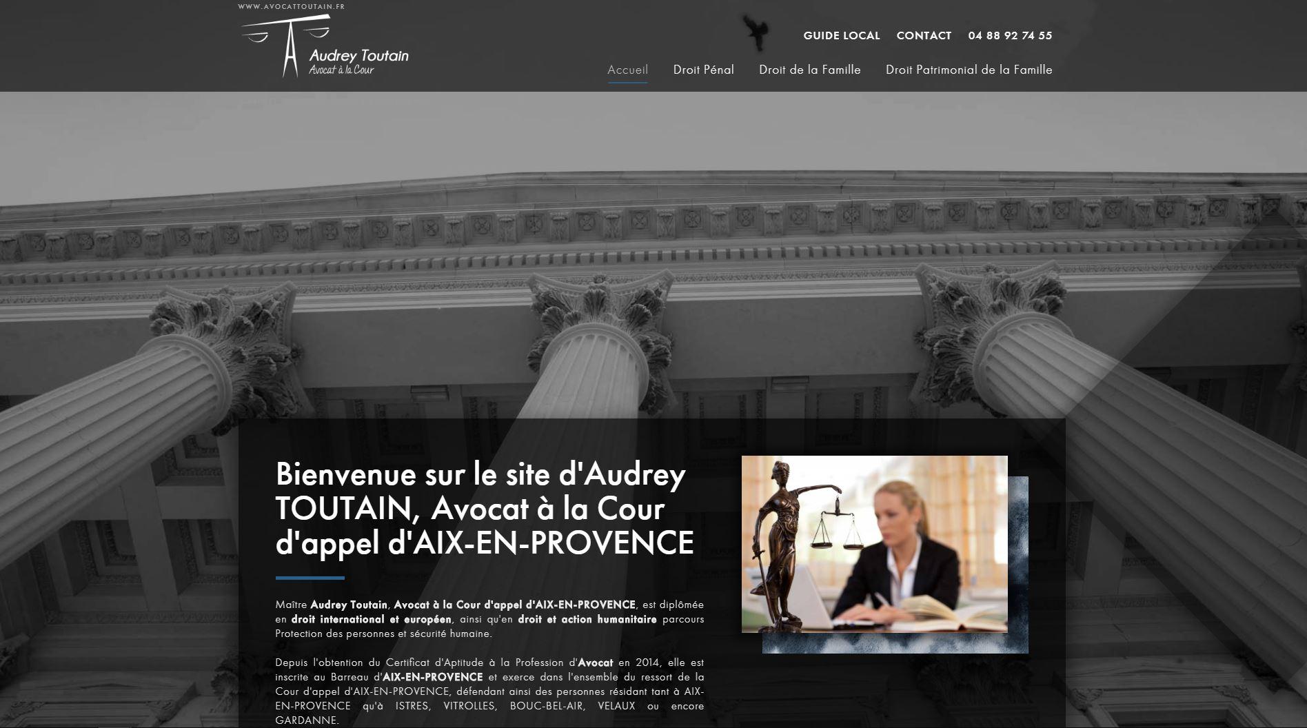 Nos r alisations de sites web pour professionnels marseille - Cabinet de recrutement aix en provence ...