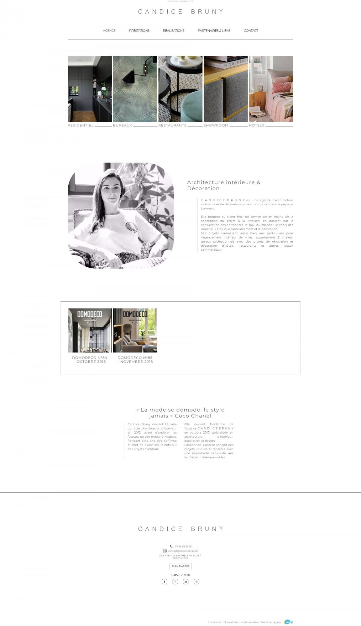 Création de site internet et référencement pour architecte d ... 7c944217616a