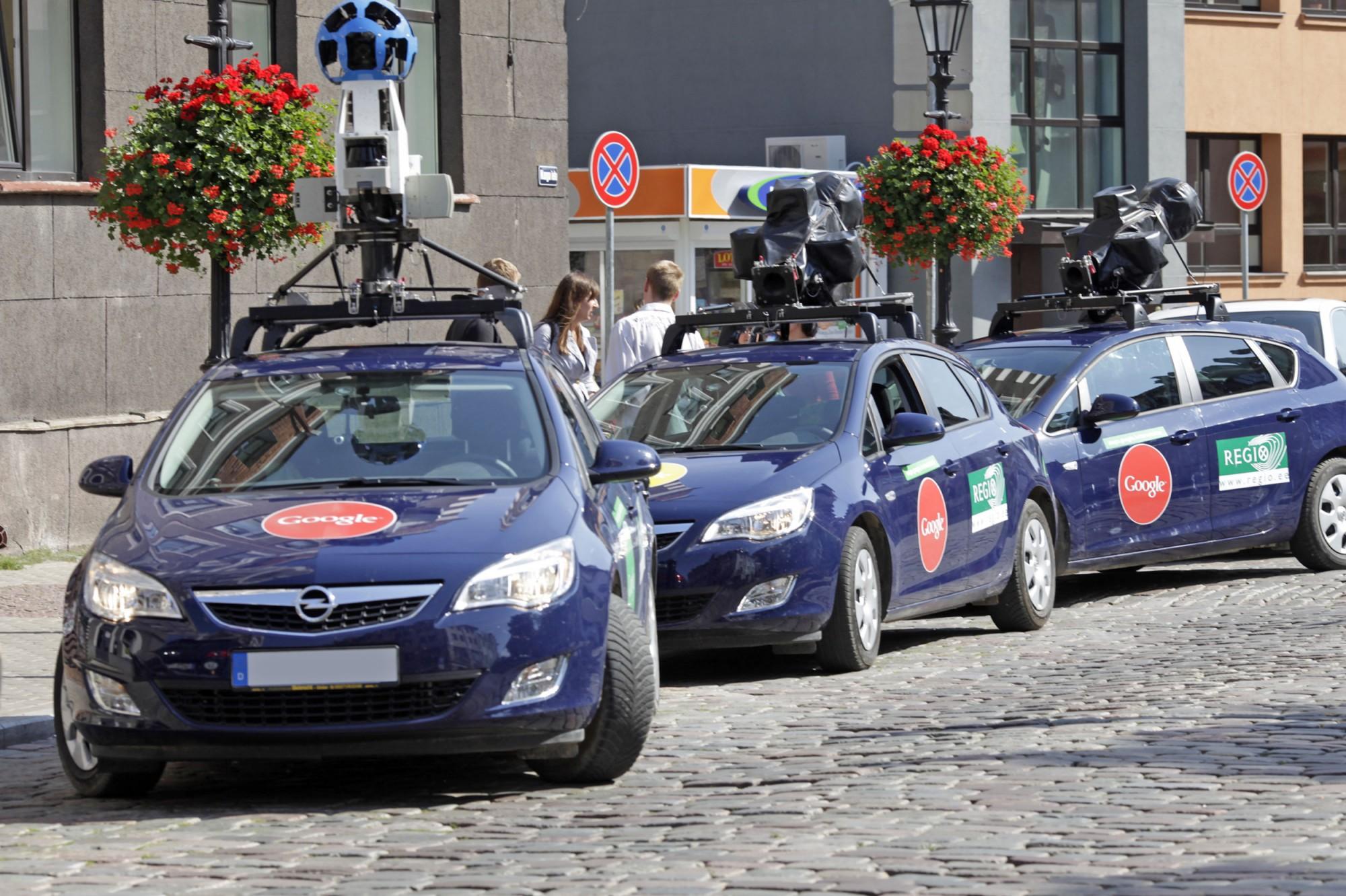 Généralisation du service Google Street View