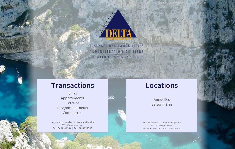 photos de cabinet delta immobilier 224 sanary sur mer 83110