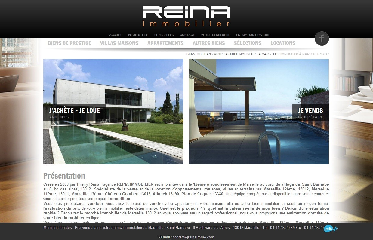 Agence immobili re marseille 13012 reina immobilier for Agence immobiliere 13012